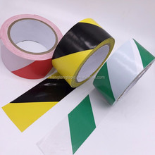 BLACK AND YELLOW PVC ROLL SELF ADHESIVE HAZARD SAFETY CAUTION WARNING TAPE