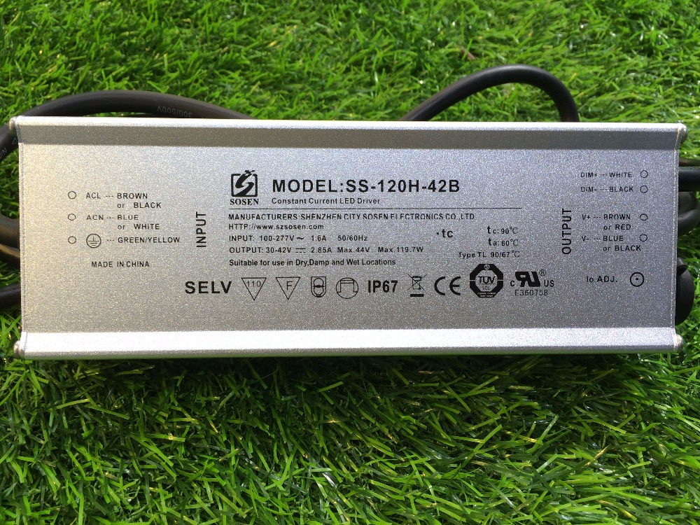 high efficiency active PFC Function 50w 70w 100w 120w 240w led driver module