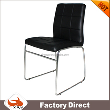 metal chrome chair base comfortable french dining chair