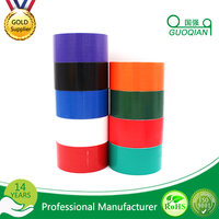 Premium Grade Waterproof Rubber Adhesive Colored Duct Tape With No Residue