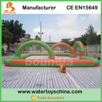 12mL*9mW Inflatable Zorb Ball Race Track With CE Certificate