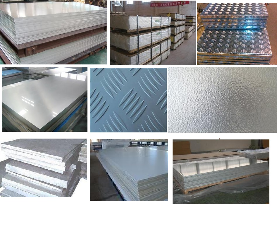 5052 5154 5456 5083 aluminum alloy checked plain diamond sheet / plate in best price