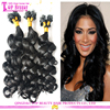 Unprocessed 5A 6A 7A Grade virgin Brazilian micro ring loop Hair extensions