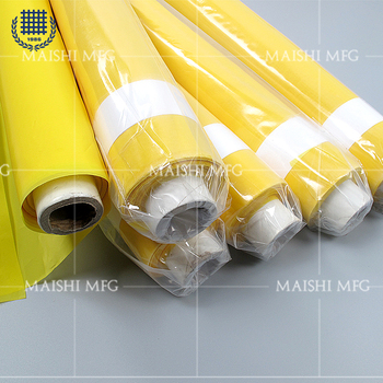 68T- 55 polyester screen printing mesh