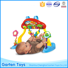 Multi-function musical baby toys play gym piano toys with light