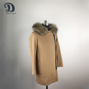 Attractive styles deft design clothes wool women coat