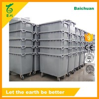 HDPE 660L Plastic Large Dustbin with 4 Wheels Buy Wholesale Direct from China