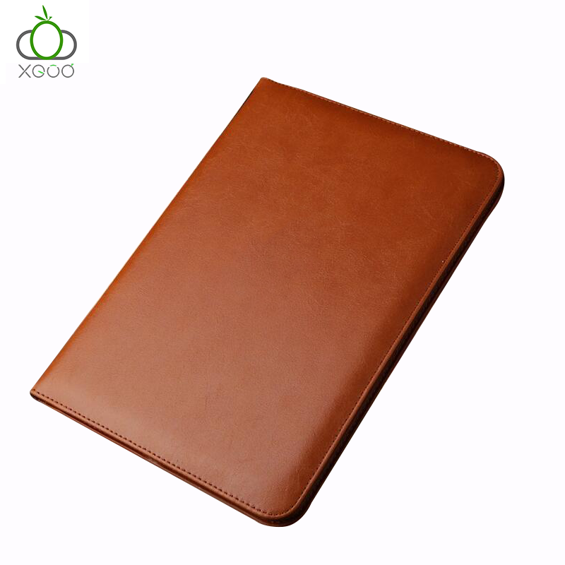 China Suppliers PU Leather Clamshell Packaging Fabric for <strong>IPad</strong> Pro case leather for <strong>IPad</strong>