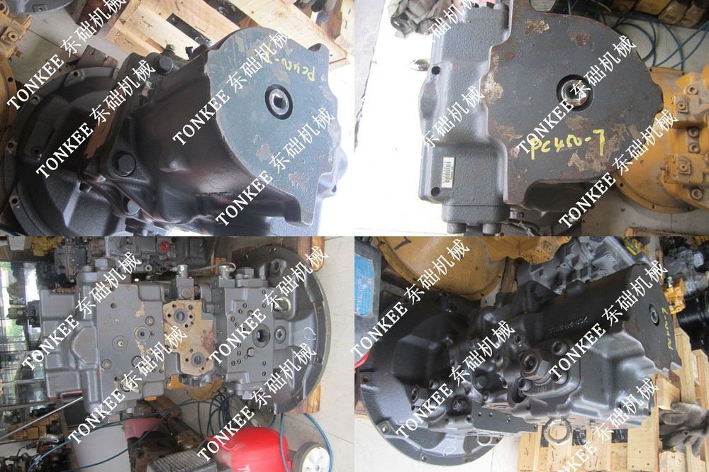 PC450-7 Hydraulic main pump, Excavator PC450-7 Main Hydraulic pump