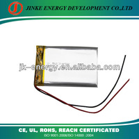 Lithium ion battery 1000mah 523450 with PCB and wire