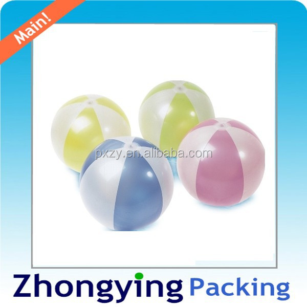 Colorful Plastic Beach Ball,Shorline Play Ball