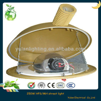 Die casting aluminum and tempered glass lens for high pressure sodium lamp 400w street light housing