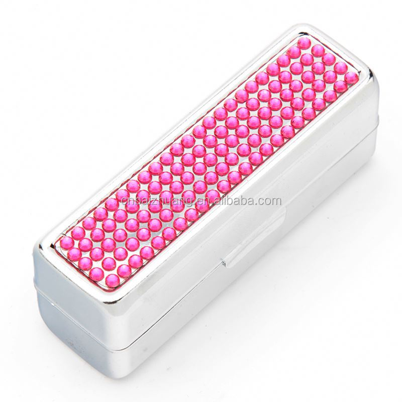 metal tin lipstick case gold metalized lipstick case metal mold lipstick case