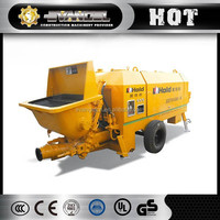 Used Liugong Trailer Concrete Pump with Boom HBT60-9-75Z