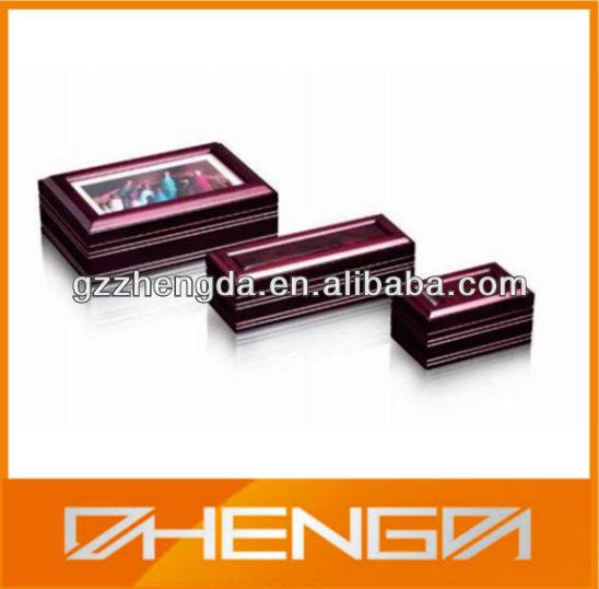 High quality customized made-in-china Wooden photo box ( ZDB-061)