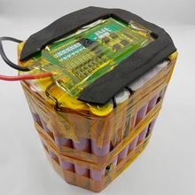 12v 20ah e-bike lead acid battery replaced by 12v 10ah lithium ion battery