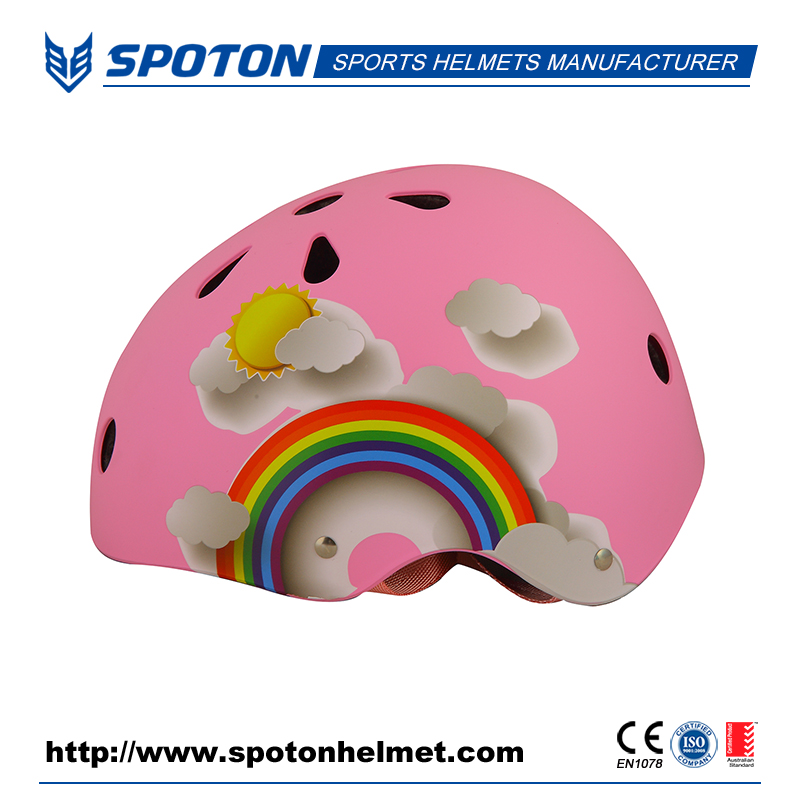 New design exclusive skateboard helmets with ASTM certification
