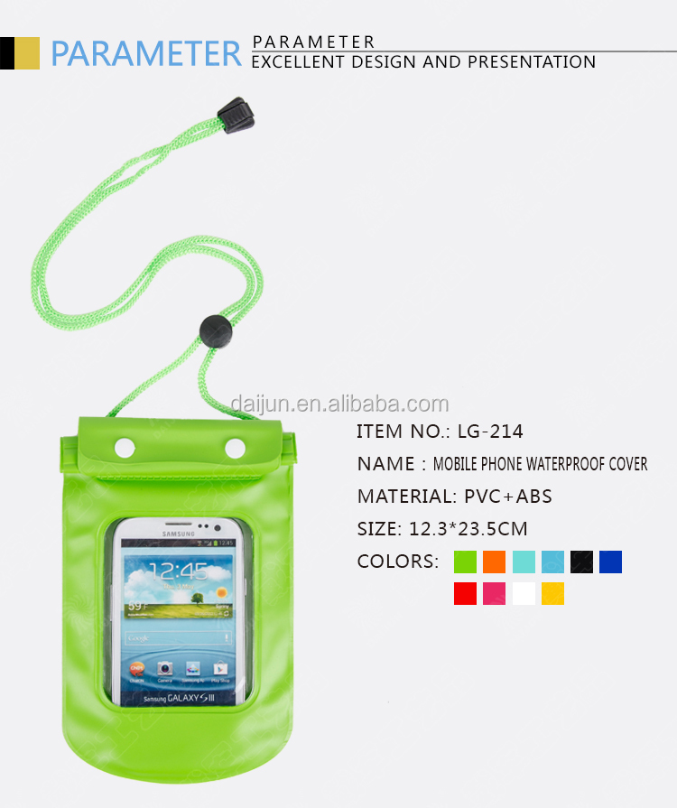 Moblile phone waterproof cover,Mobile phone holder