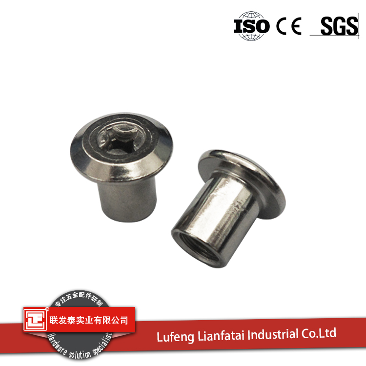 manufacture furniture hardware iron insert nuts for sale