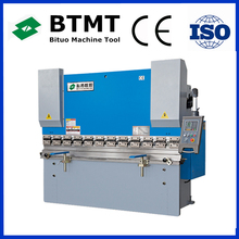 Int'l BTMT Brand WC67K Series press brake with detailed description with CNC system