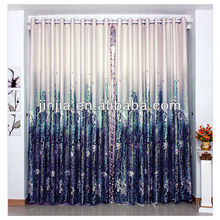Curtain factory supply all kinds of jacquard fabric curtains