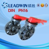 PVC VALVE/PLASTIC PVC VALVE/ FOR WATER SUPPLY AND WASTE PN16