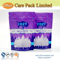 Food industrial use stand up pouch bag with zipper