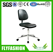 Height Adjustable and Movable Black Plastic Lab Stool/Laboratory chair