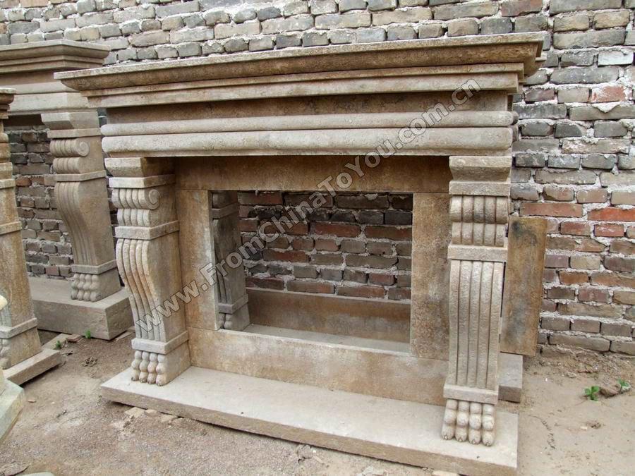 Marmol chimenea repisa de la chimenea chimeneas - Repisas de marmol ...