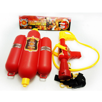 2018 fireman toy outdoor Water Gun with tank
