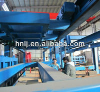 Stable performance ground turnover aac block cutting machine on hot sale