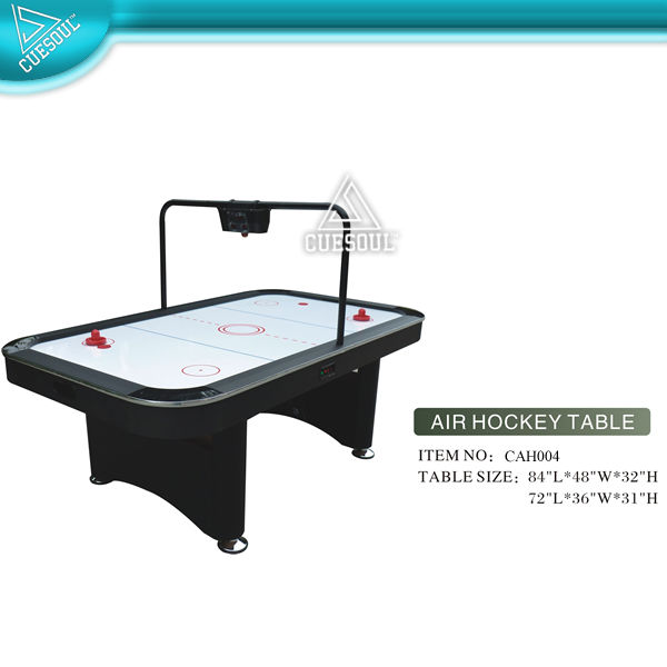 Sports Air Powered Hockey Table with Electronic scorer