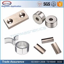 Permanent segment neodymium magnet for washing machine