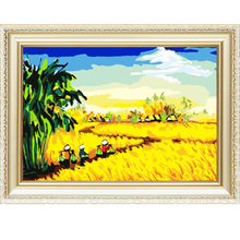 Chinese diy diamond painting embroidery kits with frame