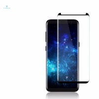 manufacturer OEM shatter-proof high transparency tempered glass screen protector for samsung galaxy s9