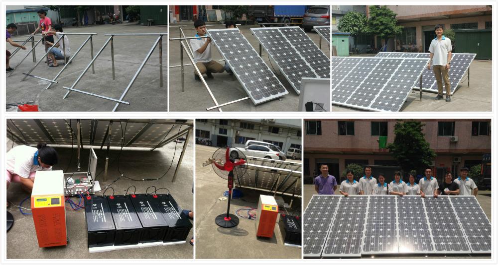 1kva/1000watt/ 1kw Solar Generator, 1000w Off Grid Solar Panel System, Solar