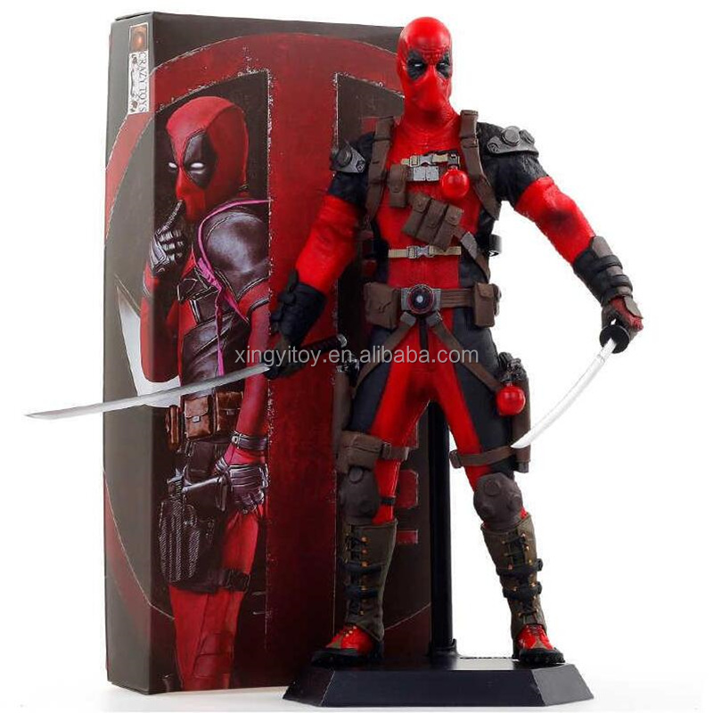 "Crazy Toys Marvel Movie Deadpool 12"" Toy action figure"