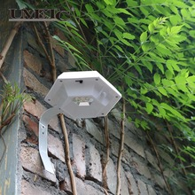High Quality Solar Powered Outdoor Wall Lamps
