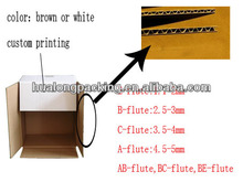 High quality custom corrugated cardboard with good service