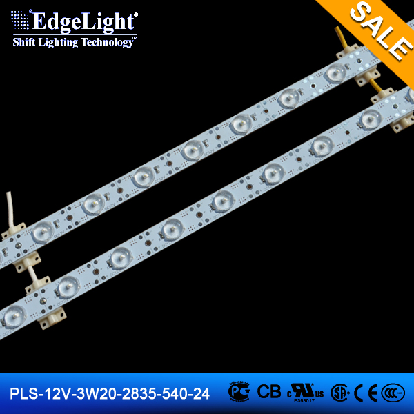 Edgelight PLS-12V-3W20-2835-540-24 strip light led performance backlight SMD