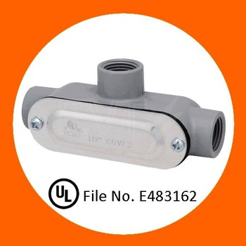 UL electrical Aluminum threaded conduit body for