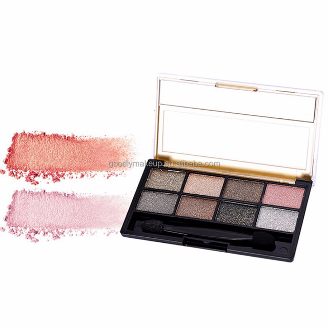 Hot Sale Pivate Label Cosmetic Cheap Eyeshadow Palette With Brush
