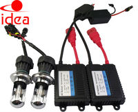 China supplier xenon hid headlight kit slim ballast h7 6000k 35w