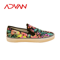 Popular Printed Woman Shoes Slip-on Lazy Casual Shoes