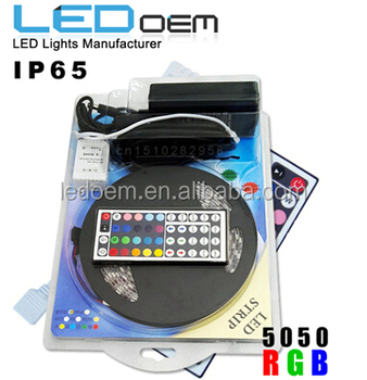 Wifi Remote Control RGB LED Strip light Color Changing