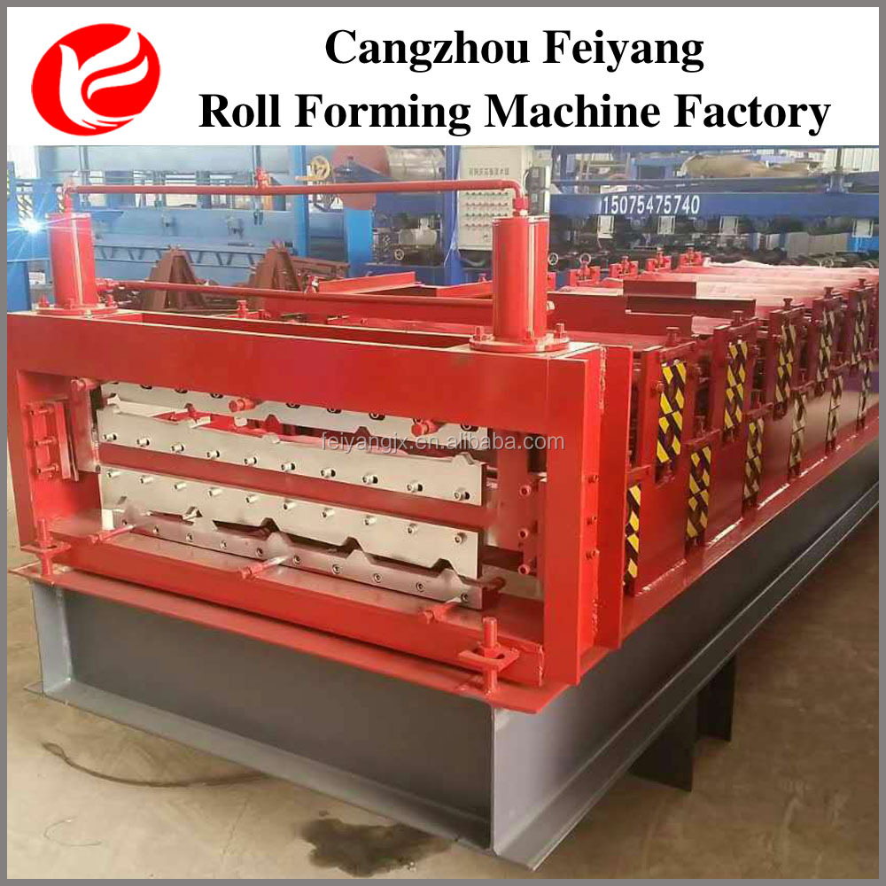 Corrugated Iron Sheet Roofing Double Layer Tile Forming Machine