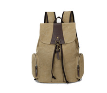 Laptop Canvas Backpack Casual Rucksack School College Bags Satchel Bookbag Large Capacity Hiking Travel Bag