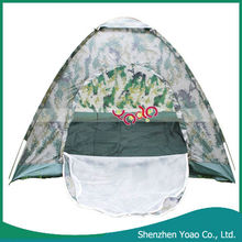 Four Person Outdoor Camping Folding Tent Green