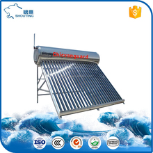 compact low-presure solar water heater