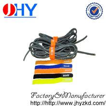 Super long life colorful and logo printed molded hook and loop cable tie